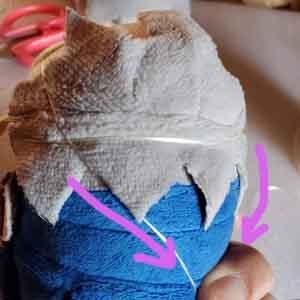 もちマスク作り方7