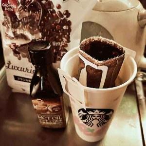 業務スーパーのドリップコーヒーでバターコーヒー