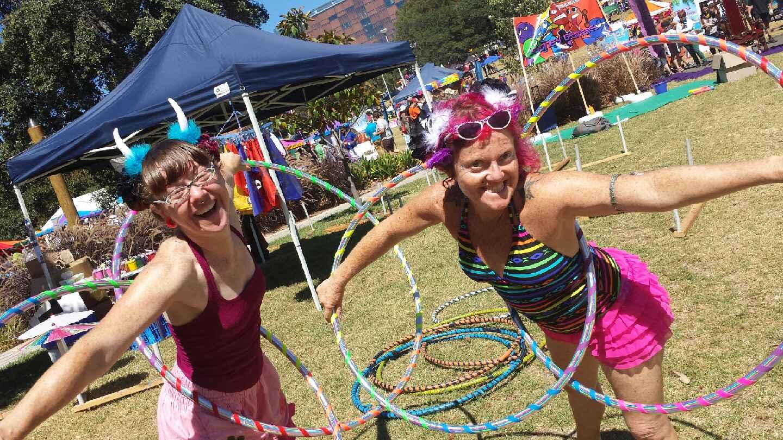Fair Day Hooping Fun
