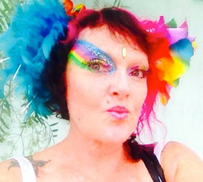Lottie's New Rainbow Makeup