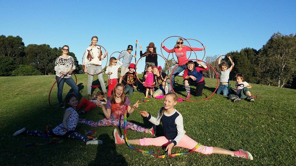 Circus Camp 2014 La La Sistarz