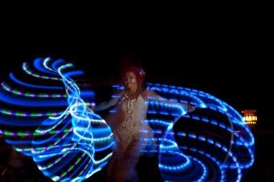 Hoop Fairy LED show KPG 2
