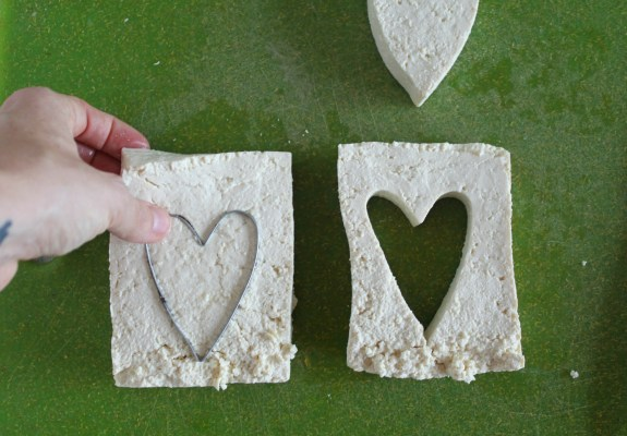 Tofu cookie cutter Jewhungry kosher blog