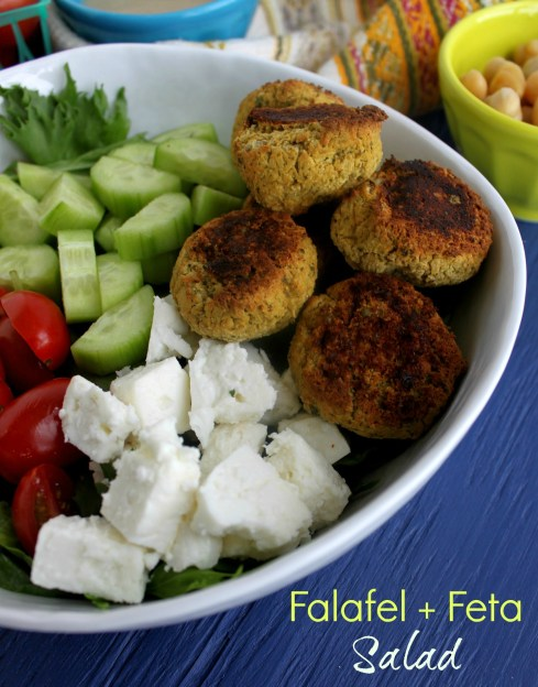 falafel feta salad jewhungry kosher