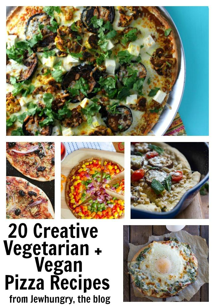 20 Creative Newspaper Craft Fashion Ideas: 20 Creative Vegetarian (+ Vegan) Pizza Recipes