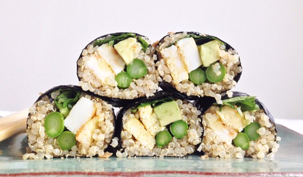 quinoa sushi kosher jewhungry blog