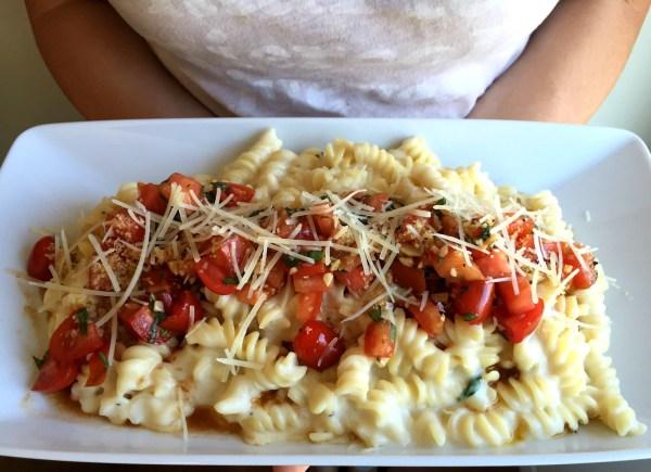 Bruschetta Mac n' Cheese Jewhungry kosher blog