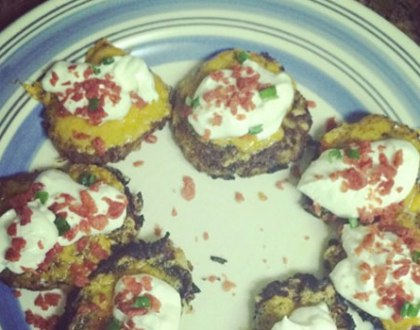 "Loaded ""Potato Skins"" Latke Recipe"