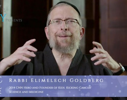 Orthodox Jewish All Star, Rabbi Elimelech Goldberg, CNN Hero