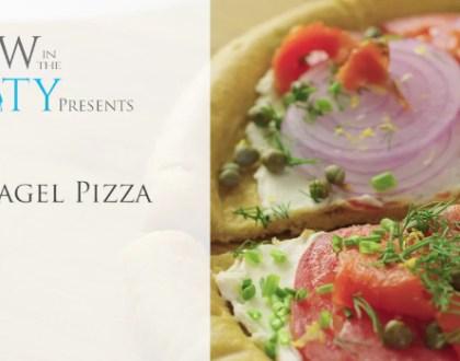 50 Second Yom Kippur Break Fast Recipe: Bagel Pizza