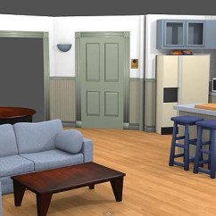 Design Living Room Virtual Apartment Rug Size Watch Seinfeld S Up Close Courtesy Of Oculus Rift