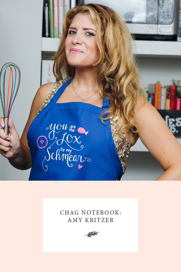 Chag Notebook: Amy Kritzer