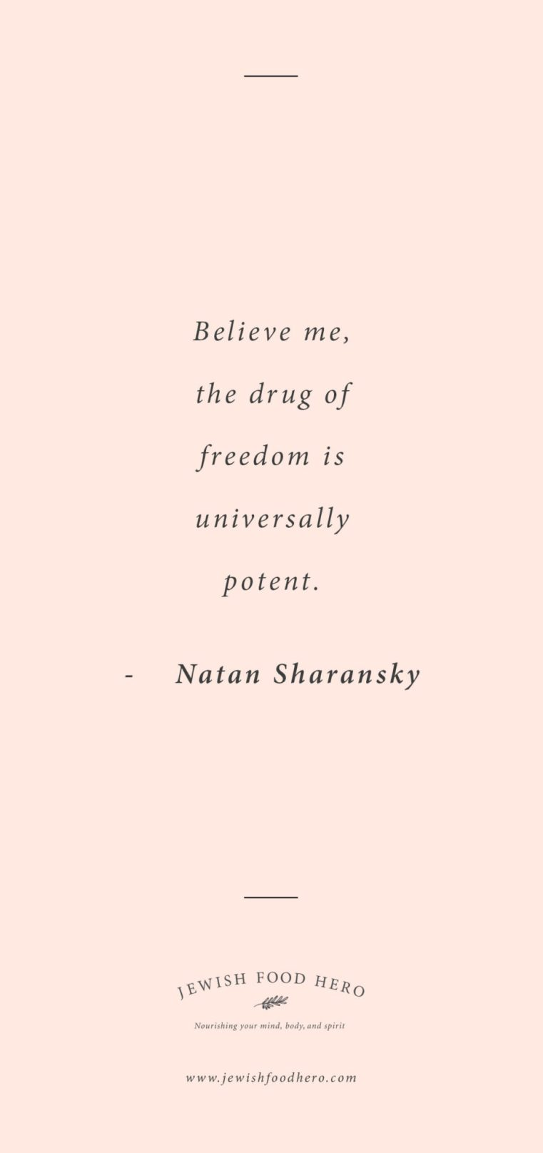 Natan Sharansky quotes, quotes on freedom, Jewish quotes on freedom