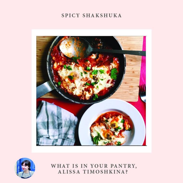 Spicy shakshuka, Alissa Timoshkina, Jewish women cooking, interviews