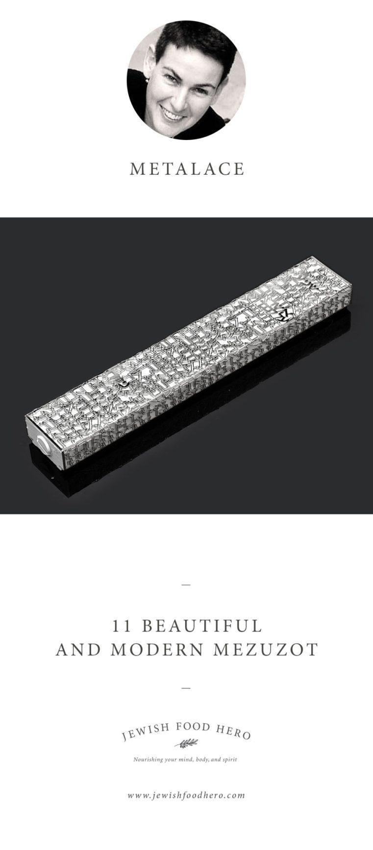 Metalace, Modern Mezuzot