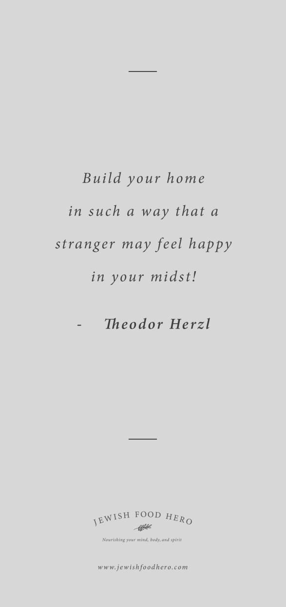 Comforting Jewish Quotes On Home Jewish Food Hero