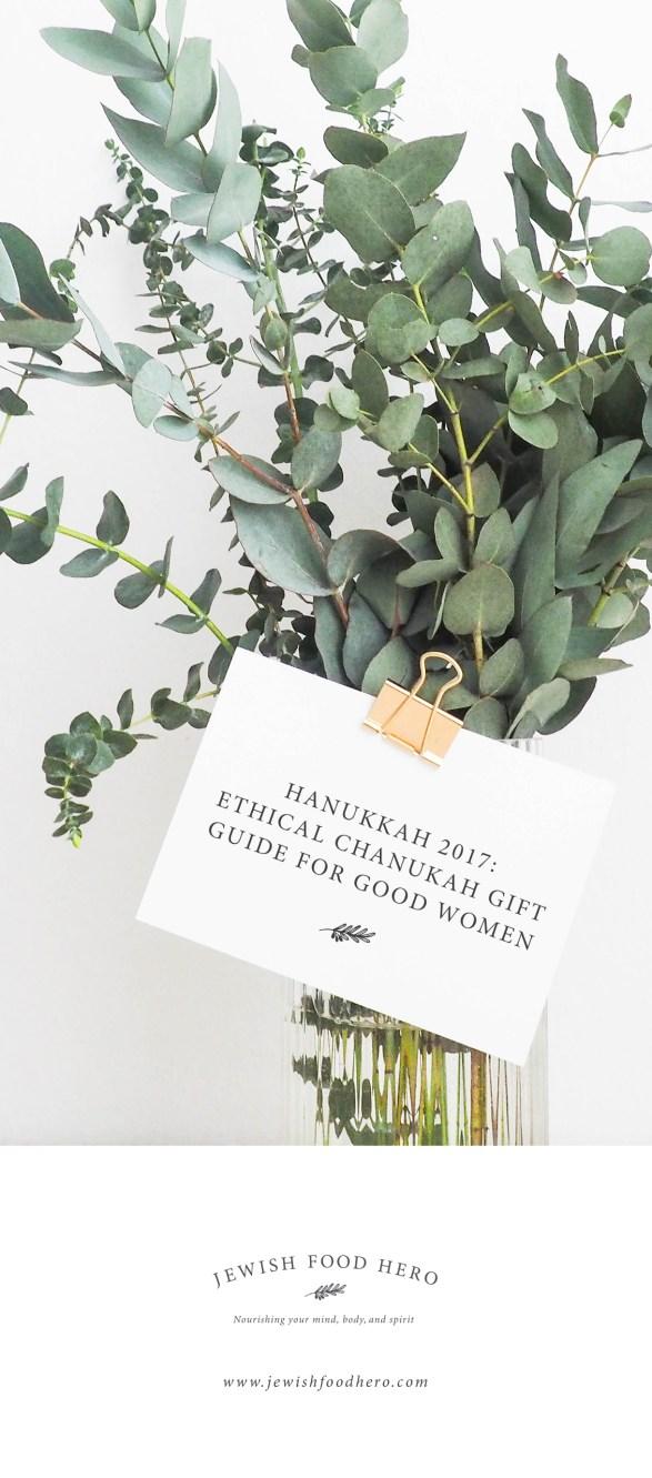 Ethical Chanukah Gift Guide for Good Women