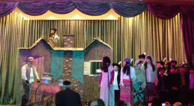 23rd annual Banquet Fiddler on the Roof performance
