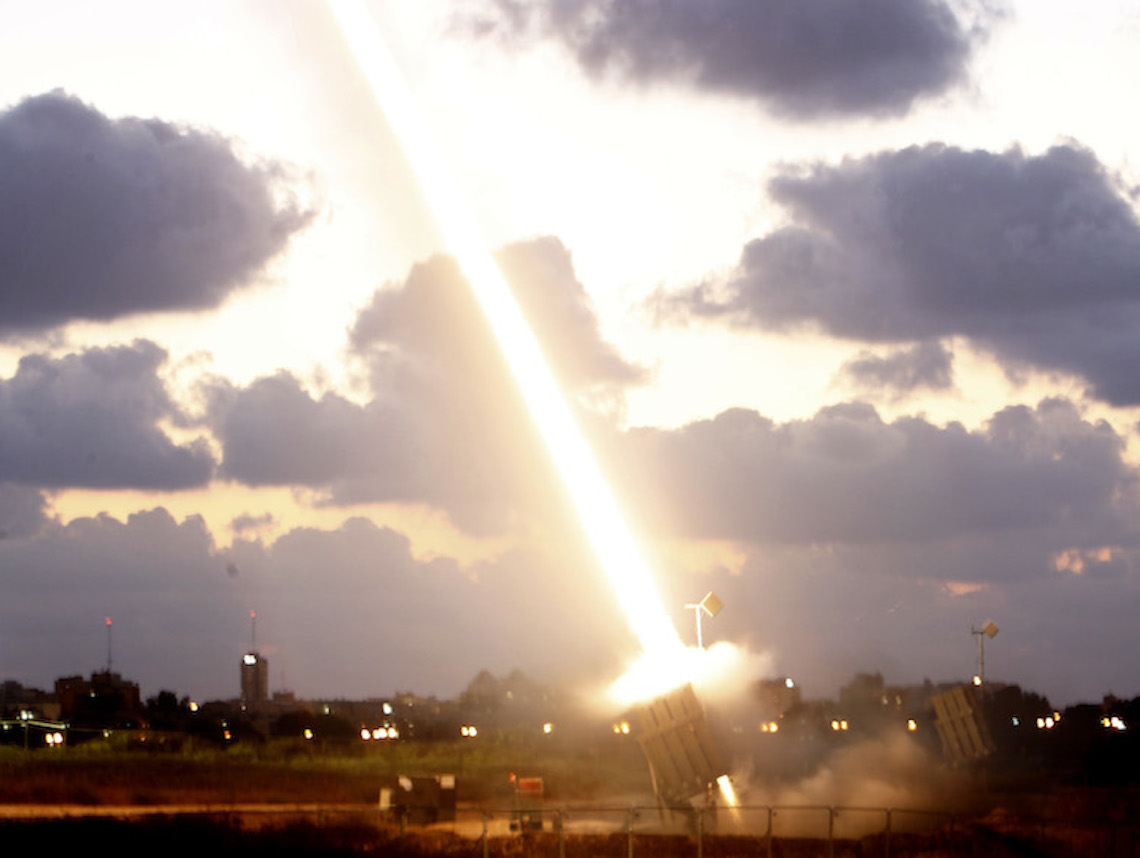 Upgraded Iron Dome with US parts passes live fire tests  Jewish Journal