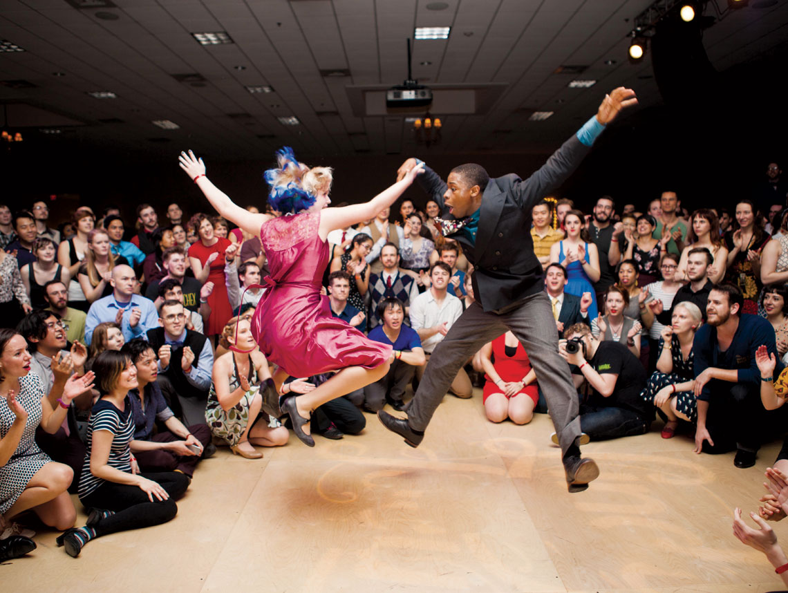 Lindy Hop puts swing in filmmakers step  Jewish Journal