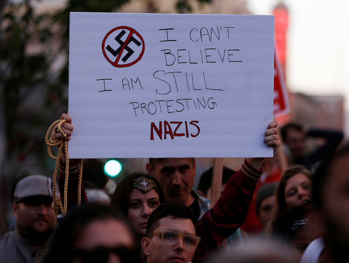 Natan Sharansky Naftali Bennett condemn antiSemitic and racist hate at Charlottesville rally