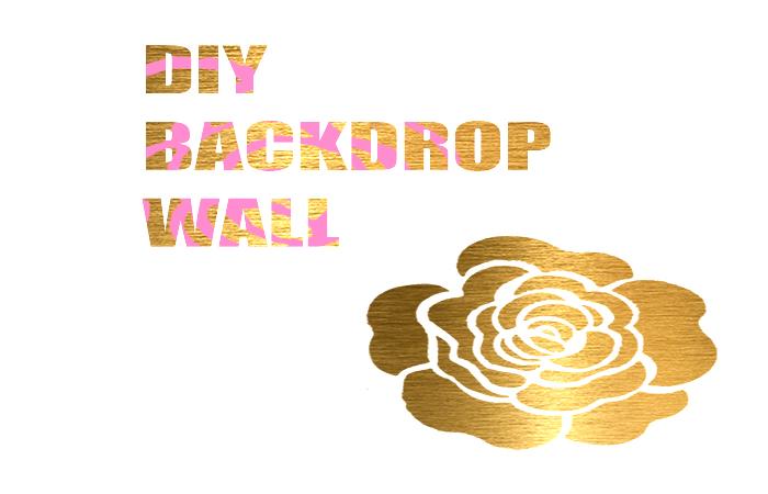 DIY Backdrop Wall for Styled Shoot || DIY fondo para sesión estilizada