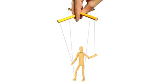 Puppet-on-a-string