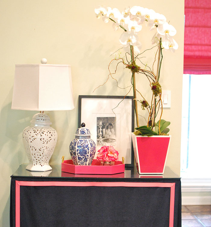 Skirted table DIY by Jewish Latin Princess