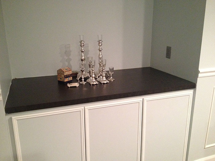 Faux Marble Countertop Before By Jewish Latin Princess