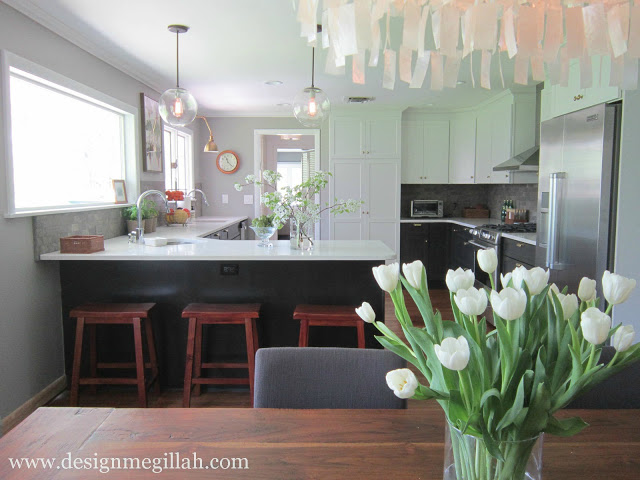 kitchen view from dining room by design megillah