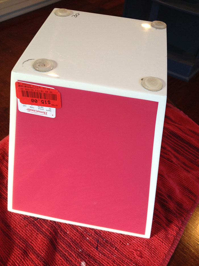 Clearance Home Goods Pink Pot