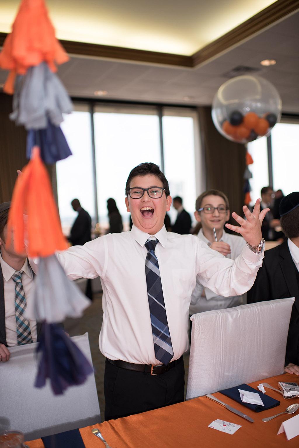 happy Bar Mitzvah boy