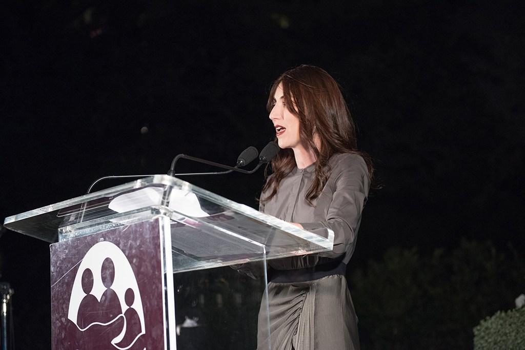 Yael from Jewish Latin Princess at Aishel House Gala