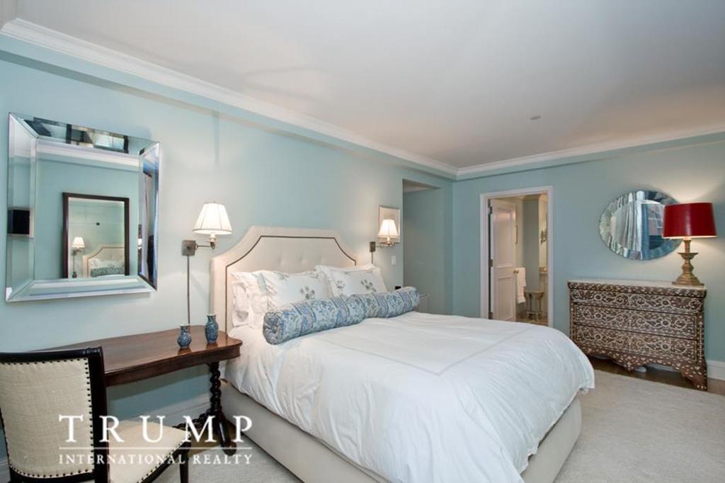 Bedroom in Ivanka Trump's apartment for sale
