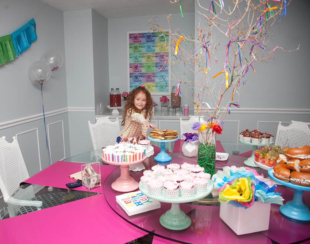Nine Year Old Girl Birthday Party Styled by Yael from Jewish Latin Princess