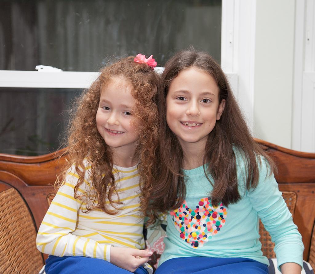 Jewish Girls at Birthday Party