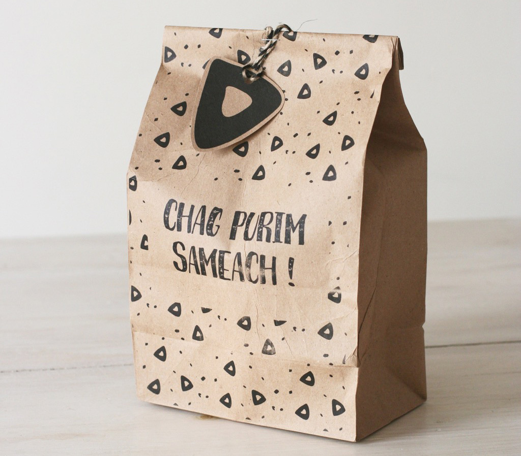 Mishloach Manot Packaging by Chai and Home