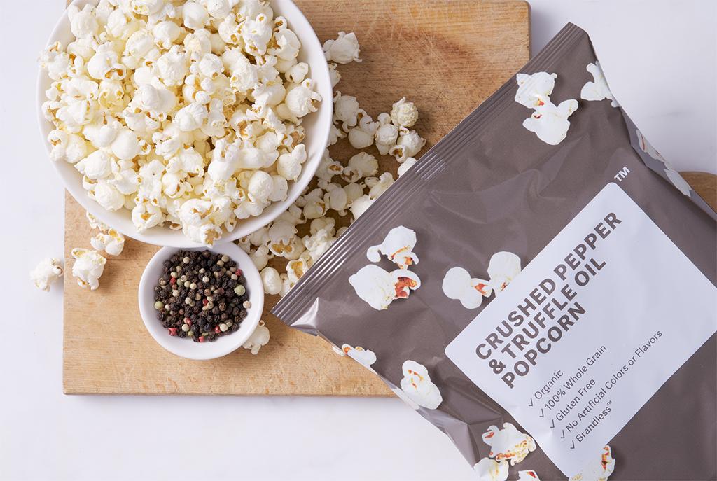 Brandless Pepper Truffle Popcorn