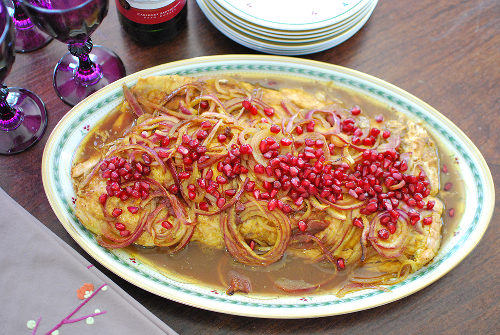 Pomegranate Salmon
