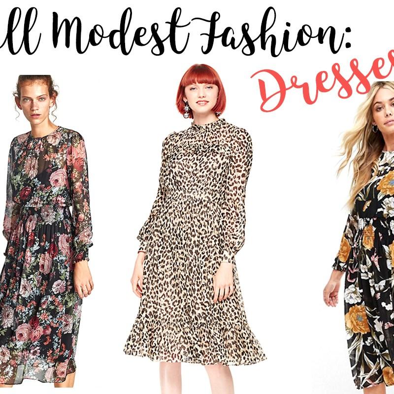 Modest Fall Fashion