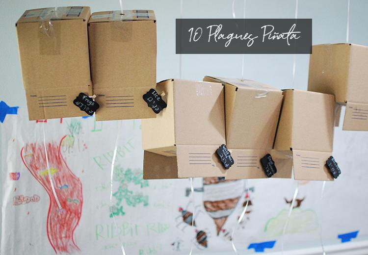10 plagues piñata