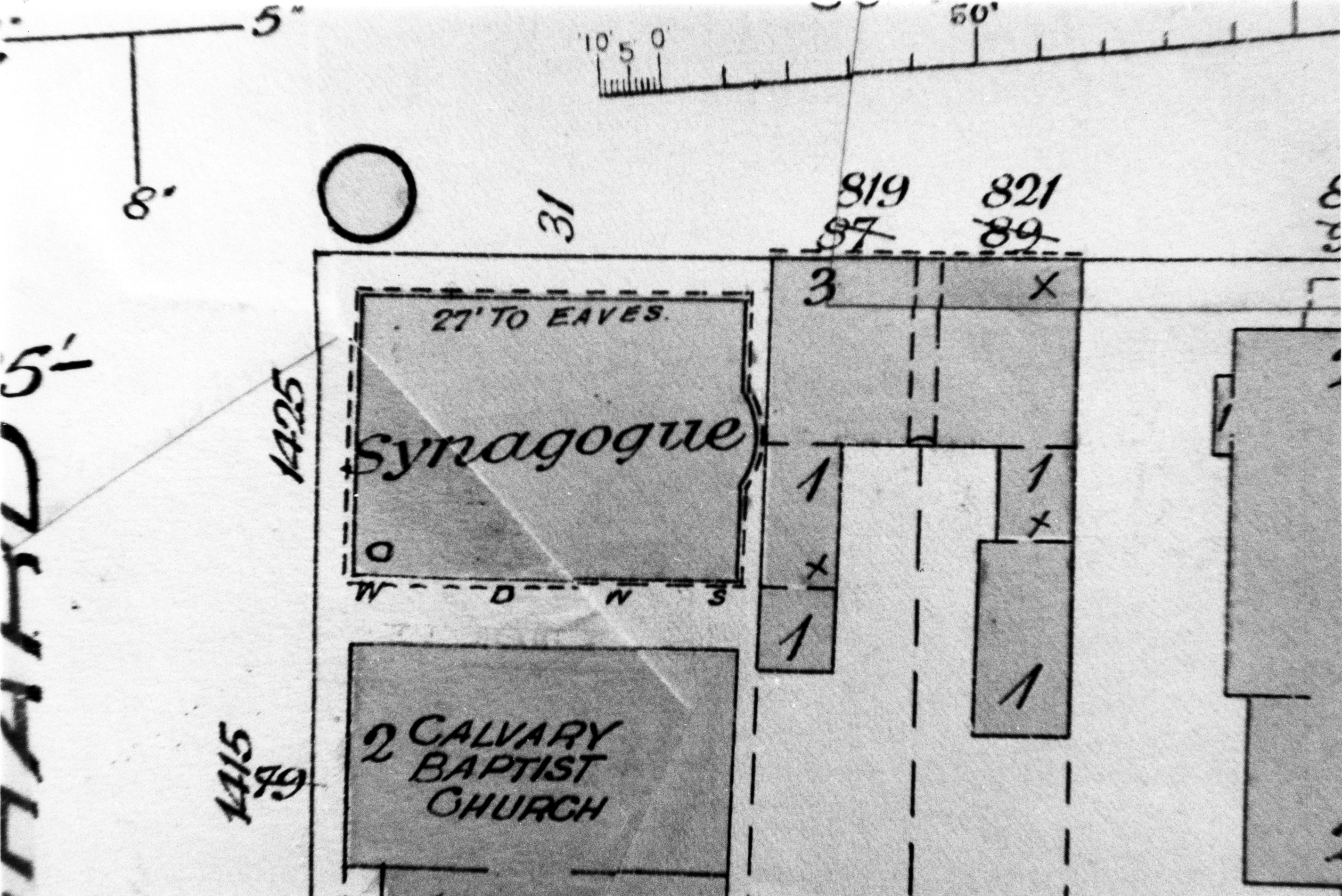 Inside A Synagogue Labelled Diagram