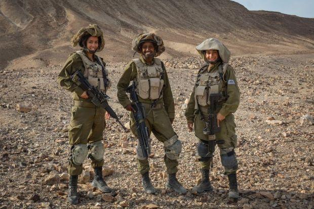 Солдаты разведывательного управления ЦАХАЛ