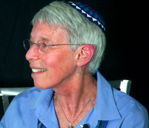 Rabbi Sue Levi Elwell, editor of <em>Chapters of the Heart</em>, a book of essays by Jewish women on spirituality.