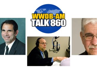 Dr. Robert Schreiber, left, and Dr. Don Friedman, right, are guests on the March 31, 2015 BGR program.