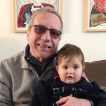 David Friedman, Medicare cost expert, with his grandson.
