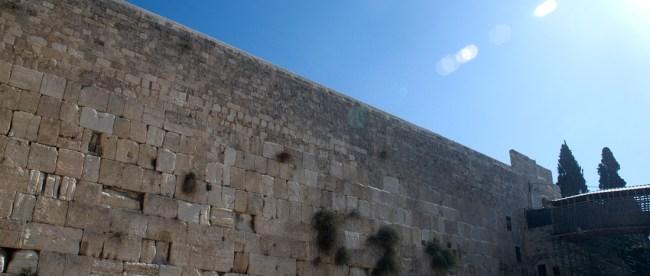 The Western Wall, Jerusalem/Steve Lubetkin Photo. Used by permission.