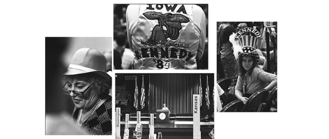Images from the 1980 Democratic Convention, New York, copyright © Steven L. Lubetkin. All rights reserved. Used by permission.