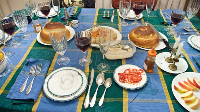 """""""Rosh Hashanah 5769 - The Table,"""" by Edsel Little, used via Creative Commons License on Flickr.com"""