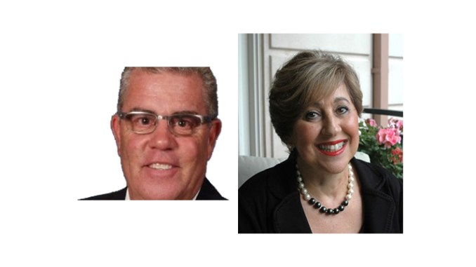 Peter Hecht, left, of Hecht Financial Advisors, and Barbara Shaiman of Embrace Your Legacy, are guests on the January 10, 2017 Boomer Generation Radio show